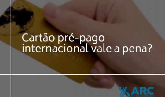 Cartão pré-pago internacional vale a pena?