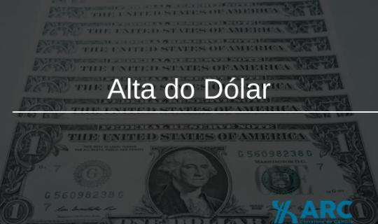 Alta do Dólar: O que devo fazer para diminuir o prejuízo?